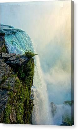 Over The Falls II Canvas Print