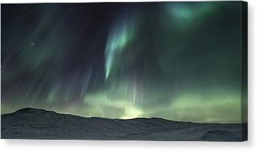 Over The Hills Canvas Print by Tor-Ivar Naess