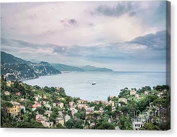 Over The Mountains And Into The Sea Canvas Print