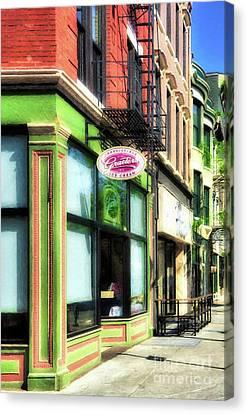 Over The Rhine In Cincinnati # 8 Canvas Print by Mel Steinhauer