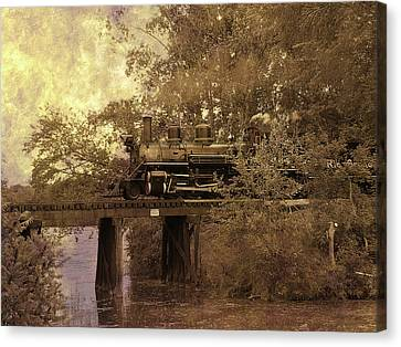 Over The River Canvas Print by Scott Hovind