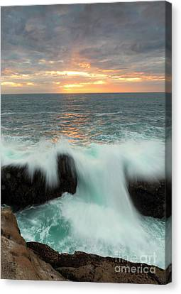 Crepuscular Rays Canvas Print - Over The Top by Mike Dawson