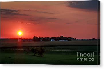 Lisa Phillips Canvas Print - Just Over Yonder by Lisa Phillips