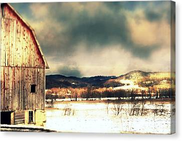 Over Yonder Canvas Print by Julie Hamilton