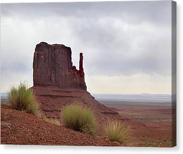 Overcast Valley Canvas Print by Gordon Beck