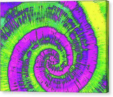 Overhearing Canvas Print - Overheard In 1969 by Wendy J St Christopher