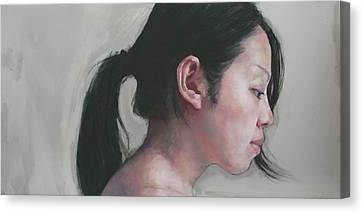 Overhearing Canvas Print - Overheard by Jennifer Anderson