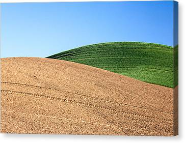 Overlapping Hills Canvas Print by Todd Klassy