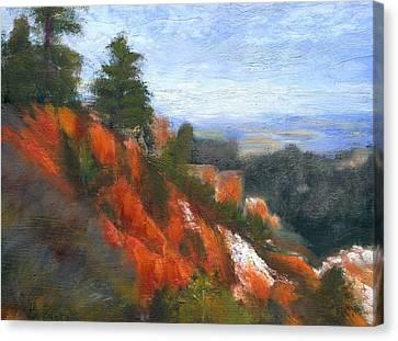 Overlook Canvas Print