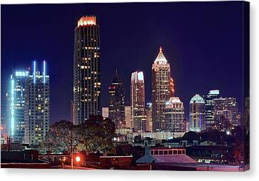 Overlooking Atlanta Canvas Print