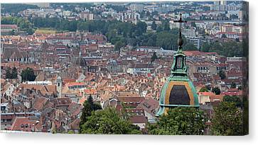 Overlooking Besancon France Canvas Print by Lance Carter