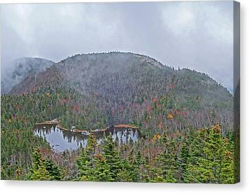 Marie-louise Canvas Print - Overlooking Marie Louise Lake Adirondacks by Toby McGuire