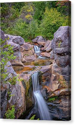 Maine Mountains Canvas Print - Overlooking Screw Auger Falls by Rick Berk