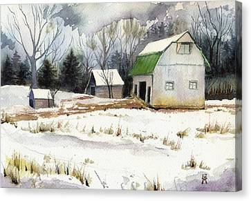 Owen County Winter Canvas Print by Katherine Miller