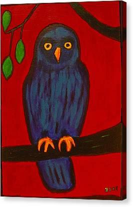 Owl Uggla Canvas Print