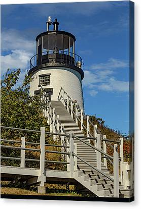 Owls Head Light. Maine Canvas Print by Capt Gerry Hare