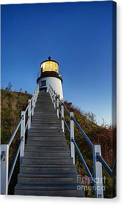 Owls Head Lighthouse Canvas Print by John Greim