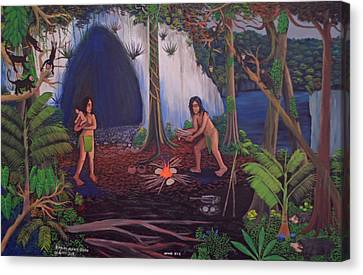 Owners Of The Jungle Canvas Print
