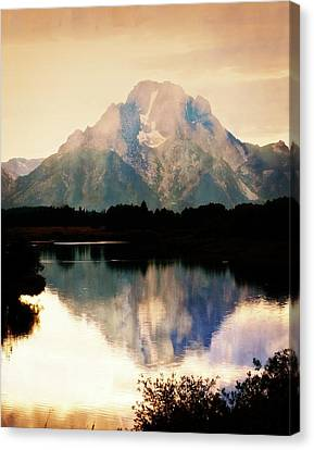 Oxbow Bend 14 Canvas Print by Marty Koch