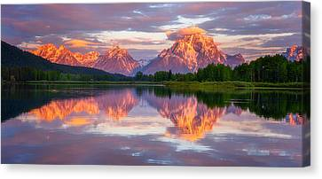 Oxbow Magic Canvas Print by Darren  White