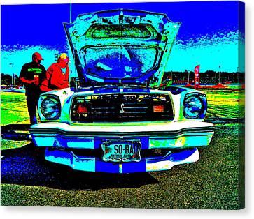 Oxford Car Show 50 Canvas Print