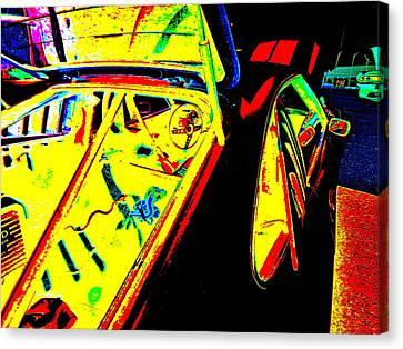 Oxford Car Show 52 Canvas Print