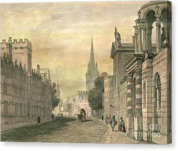 Oxford Canvas Print by G Hollis