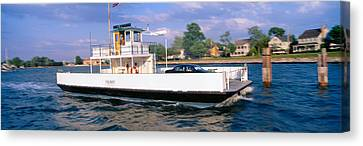 Water Vessels Canvas Print - Oxford To Bellevue Ferry, Continuous by Panoramic Images