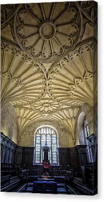 Oxford University Convocation House Canvas Print