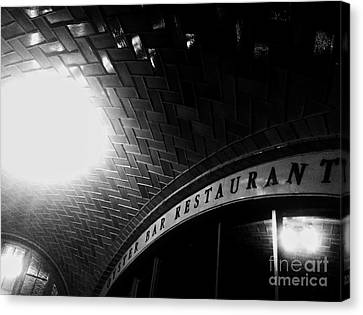 Oyster Bar At Grand Central Canvas Print by James Aiken