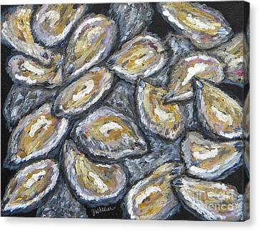 Oyster Stack Canvas Print