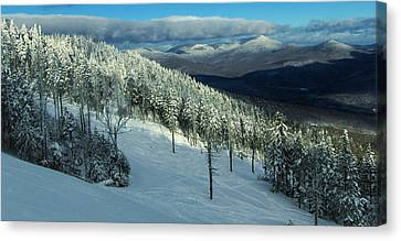 Oz At Sunday River Maine Canvas Print by Angelo Rolt