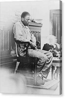 Ozzie Powell, One Of The Nine Canvas Print by Everett