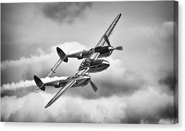 P-38 Lightning Canvas Print
