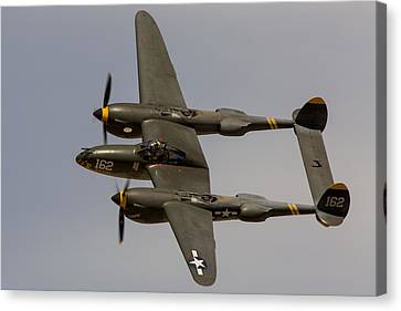 P-38 Skidoo Canvas Print by John Daly