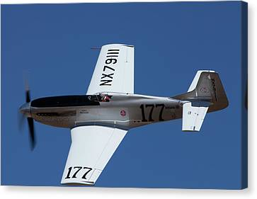 Highspeed Canvas Print - P-51 Galloping Ghost by Owen Ashurst