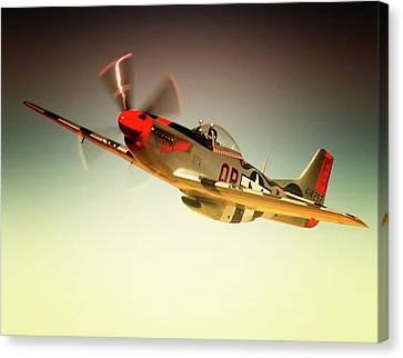P-51 Mustang Man O War Canvas Print