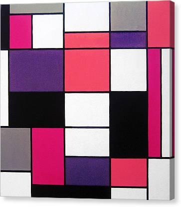 P Cubed Canvas Print by Oliver Johnston