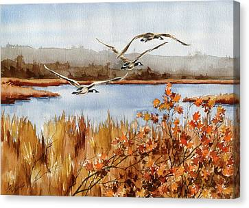 On The Fly Canvas Print by Art Scholz