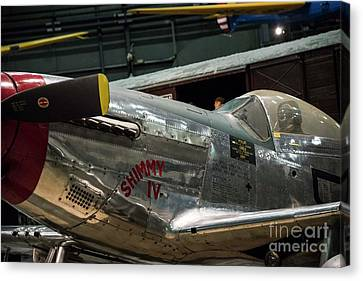 P51 Mustang Canvas Print by David Bearden