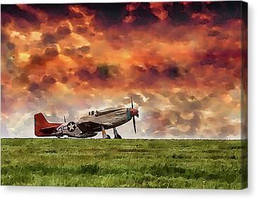 P51 Warbird Canvas Print