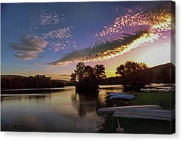 Pa French Creek 2074 Canvas Print by Scott McAllister
