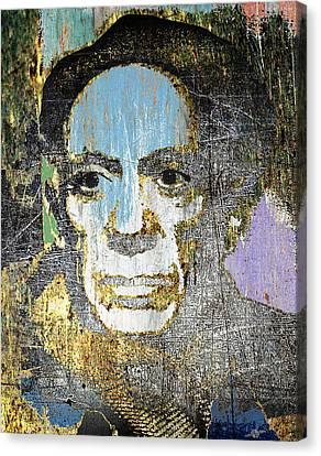 Pablo Picasso 2 Canvas Print