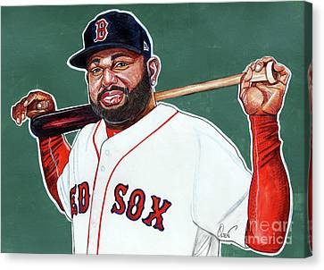 Pablo Sandoval Canvas Print by Dave Olsen