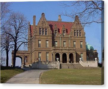 Pabst Mansion Photo Canvas Print by Anita Burgermeister
