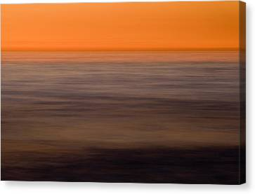 Pacific Abstracted Canvas Print by Brad Rickerby