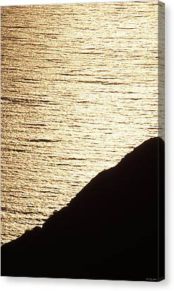 Pacific Coast Sunset Canvas Print by Soli Deo Gloria Wilderness And Wildlife Photography