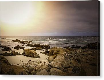 Canvas Print featuring the photograph Pacific Coastline by Ryan Photography