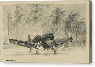 Pacific Corsairs Canvas Print
