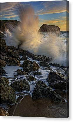Pacific Fury Canvas Print by Rick Berk